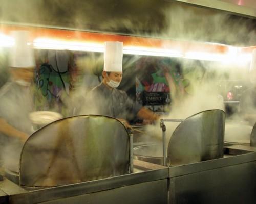 Noodle bar chefs