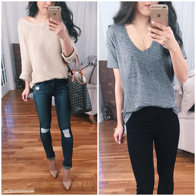 rag bone jeans shopbop madewell perfect v neck tee