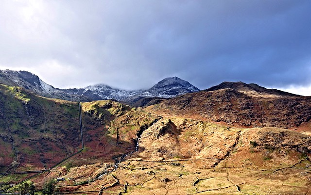 Mount Snowdon from the observation platform