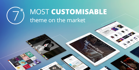 Themeforest The7 v3.4.0 Responsive Multi-Purpose WordPress Theme