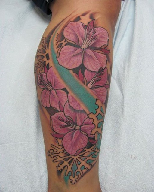 The lady I did this on tagged me in a photo today of this tattoo I did 5 years ago #okanagantattoo #okanagantattoos