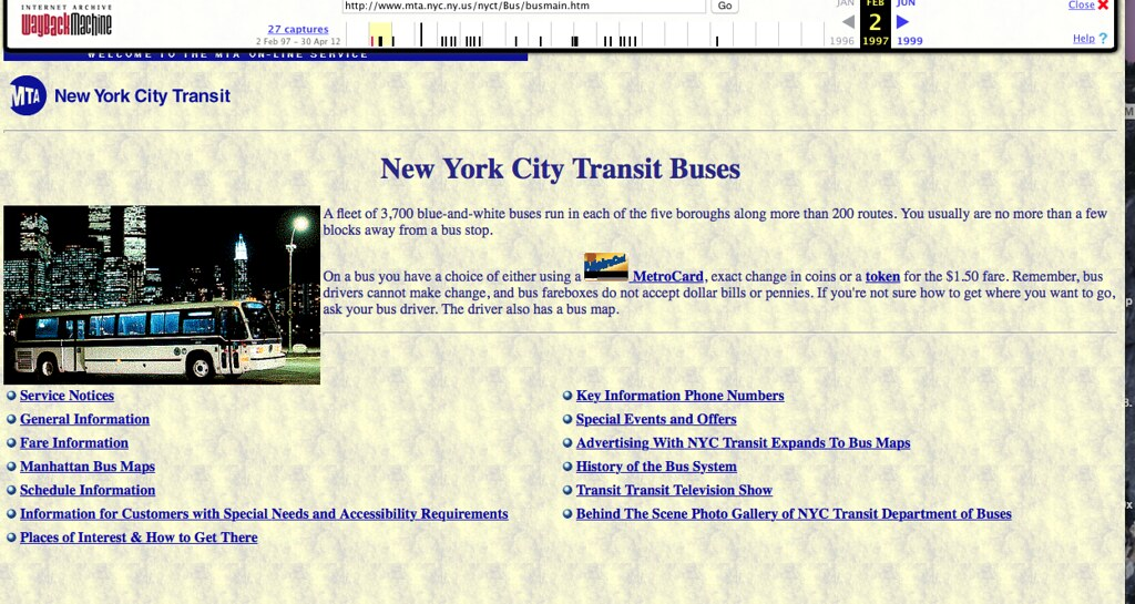 The MTA Archives New York City Bus NYC Transit Forums