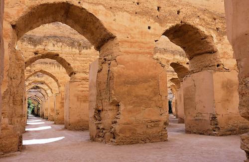 Anciennes écuries de Moulay Ismaïl