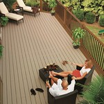 DuraLife Siesta decking in Pebble