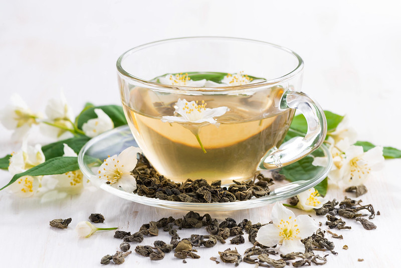 green tea with jasmin