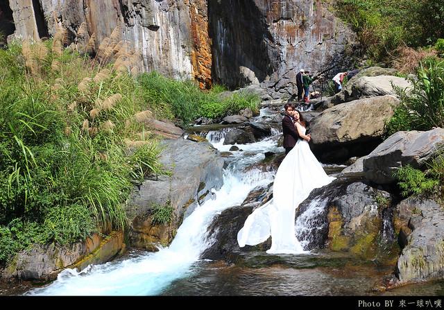 南投-夢谷瀑布19