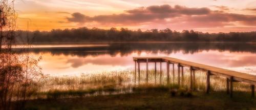 morning panorama lake stitch florida deck deland canonef50f14 ortoneffect canon7d topazadjust5