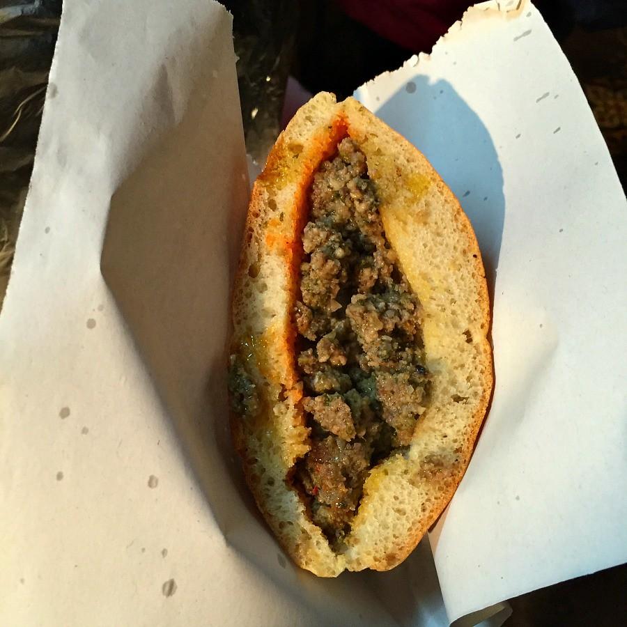 Spleen Sandwich - Surprisingly Delicious!