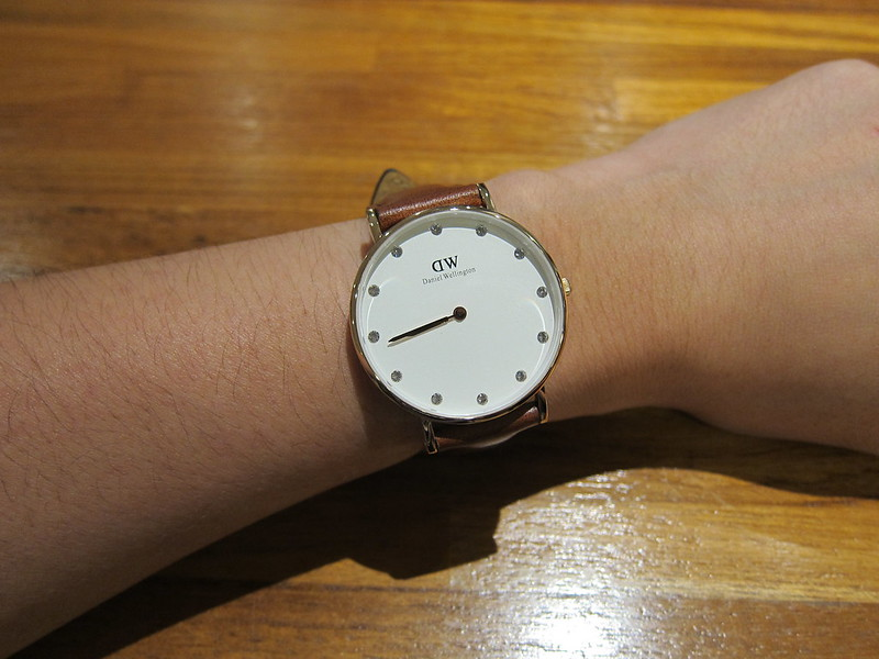 DW - Classy St Mawes Watch Rose Gold (34mm) - On Hand