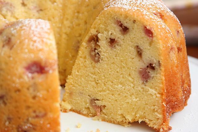 rhubarb pound cake 7