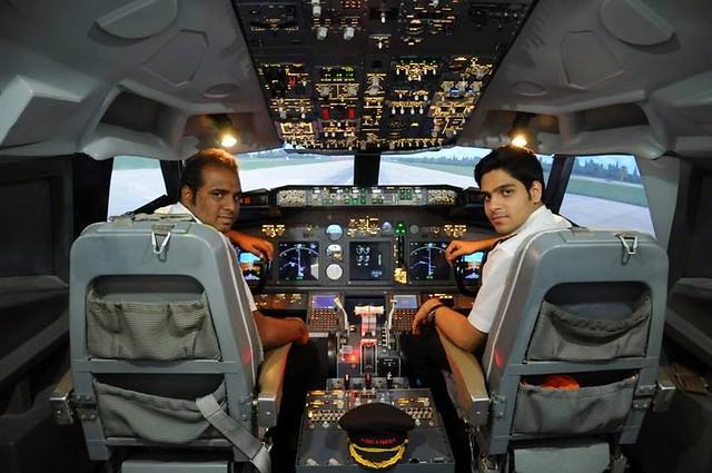 Boeing 737  Jet Simulator Experience Bangalore