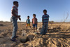 The Wayuu – in particularl the children – spend most of their day looking for water in dried up, saline or otherwise contaminated wells, drawing mostly brownish sludge unfit for human consumption.  © European Union/ECHO/C. George 2015