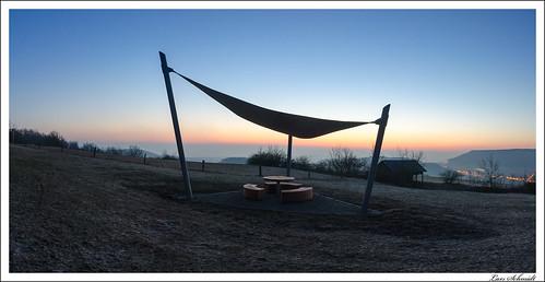 Morgendämmerung auf dem Sonnenstein