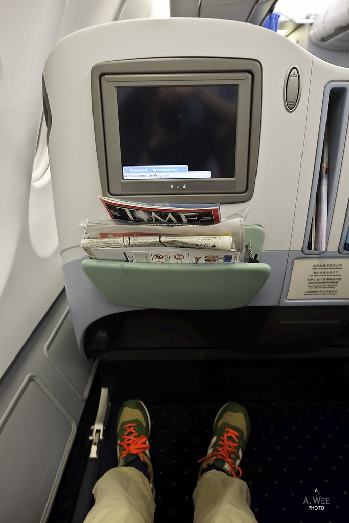 Legroom on the A330