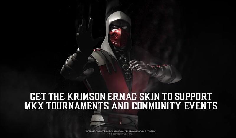 Mortal Kombat X - Krimson Ermac