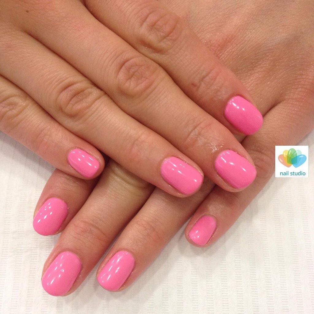Wiosna Spring Pink Pinknails Manicure Perfectmanicur Flickr