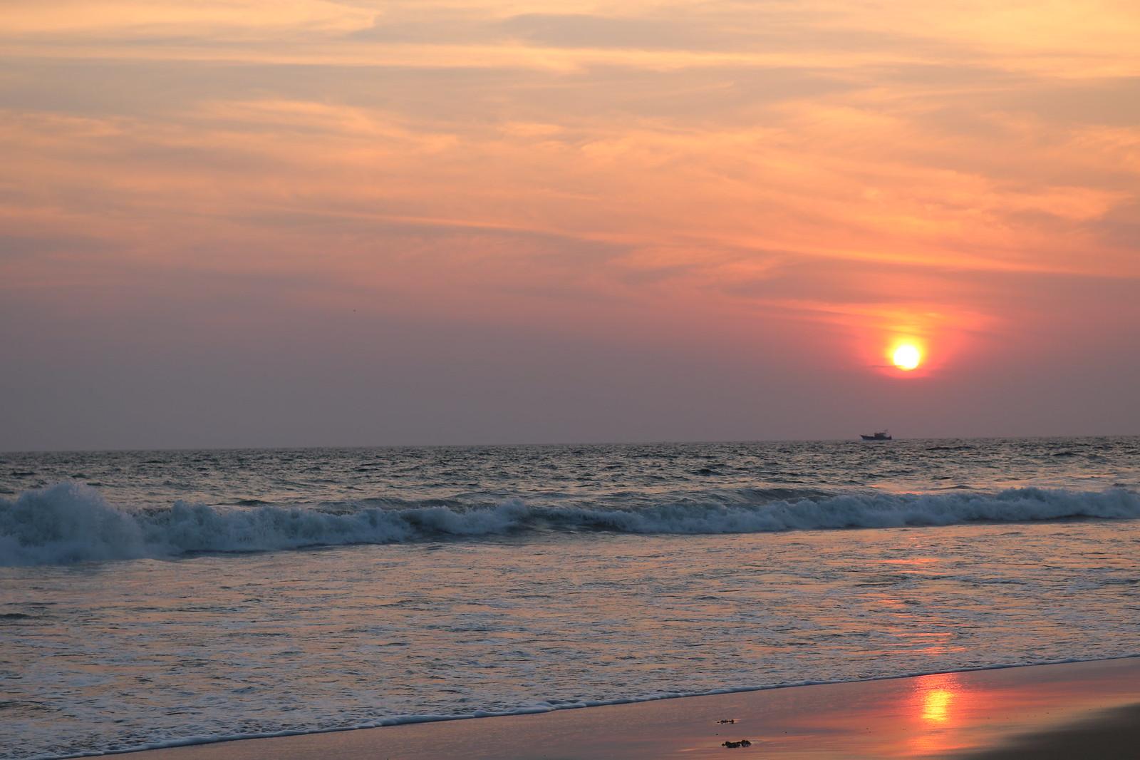 Sunset @ Hawa Beach Kovalam