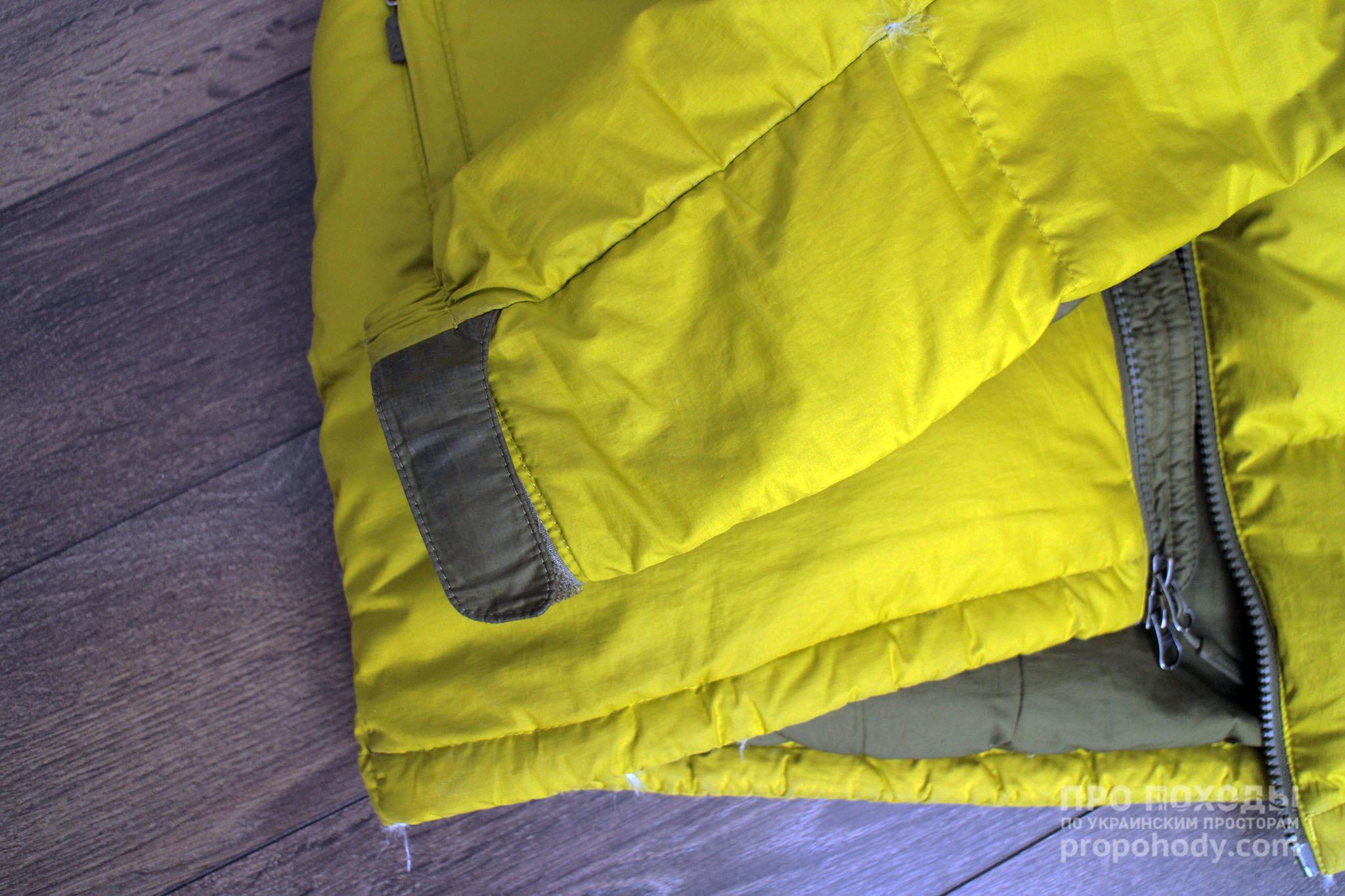 Результат прання з Nikwax Down Wash Direct