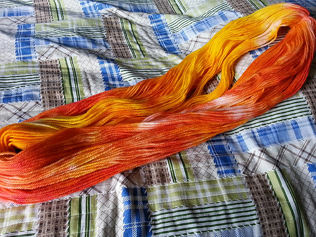 Second dyeing attempt