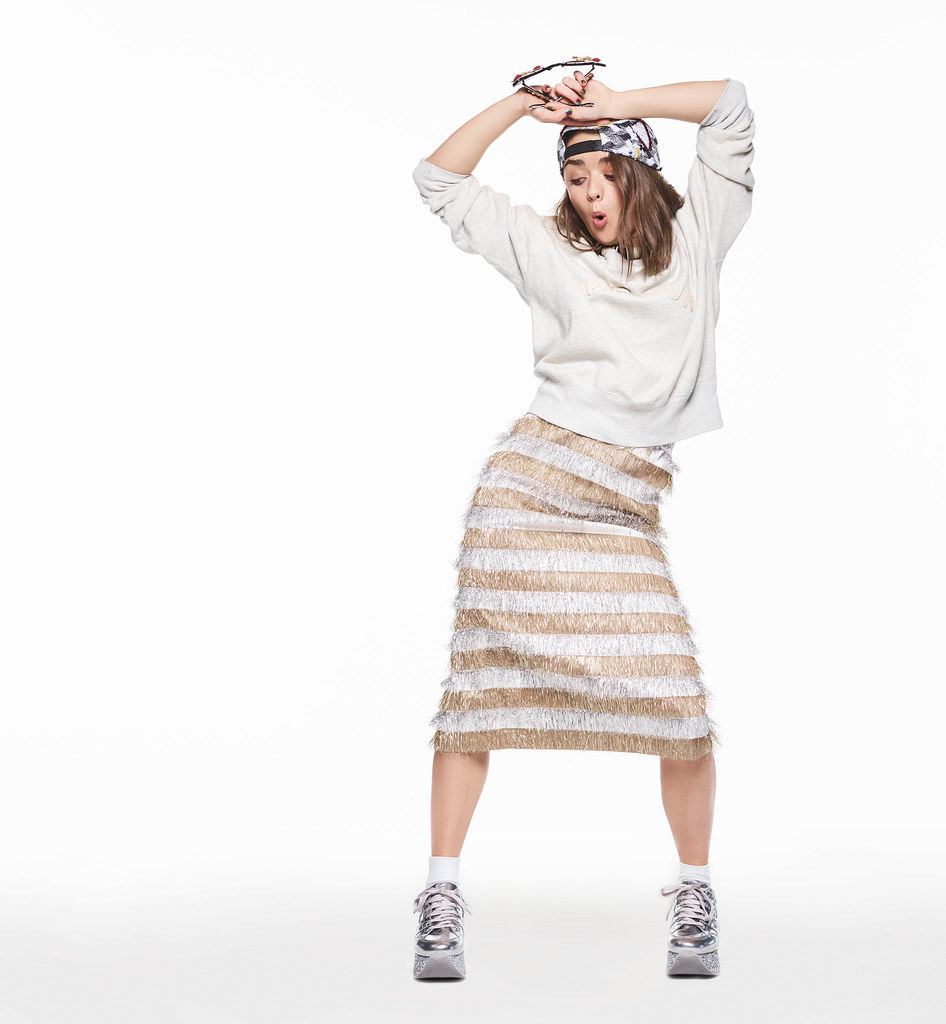 Мэйси Уильямс — Фотосессия для «Nylon» 2016 – 5
