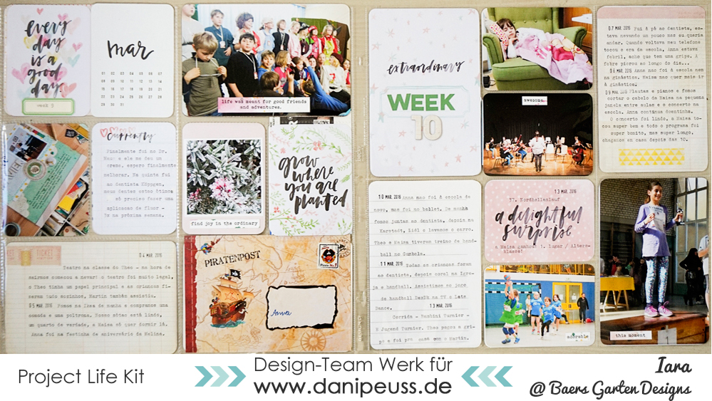 Project Life Weeks 9 and 10