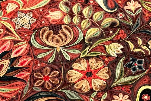 Jardin by Paper Artist Lisa Nilsson - Field Detail