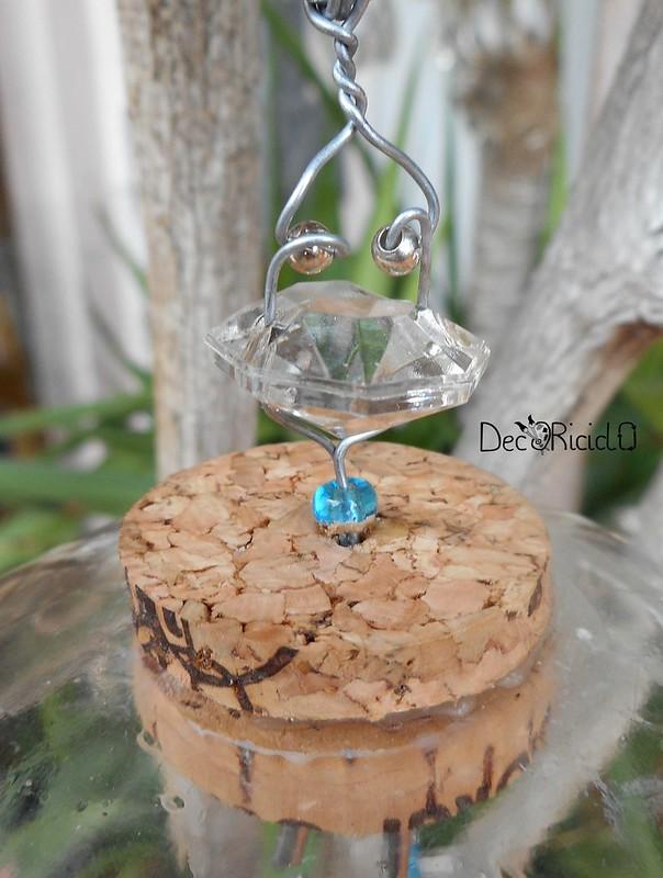 mobìle farfalle, vetro e ceramica 3
