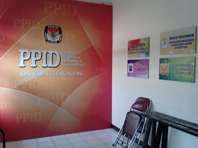Ruangan Khusus PPID sedang dipersiapkan (11/4)