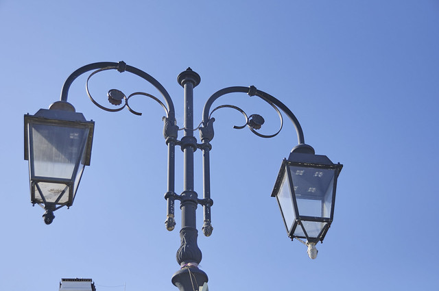 I lampioni sulla passeggiata