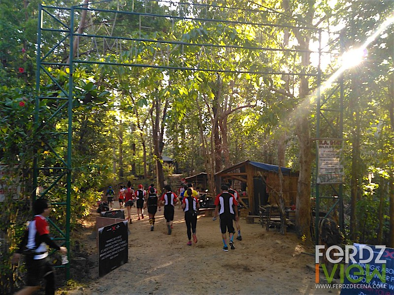 Entering the Pamulaklakin Trail