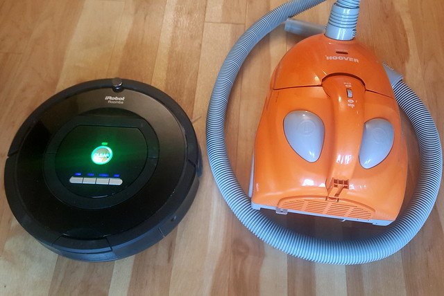 Roomba and Hoover