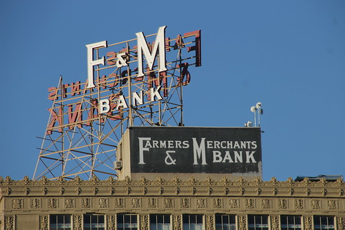Farmers & Merchants Bank - Downtown Long Beach, California - October 21, 2015