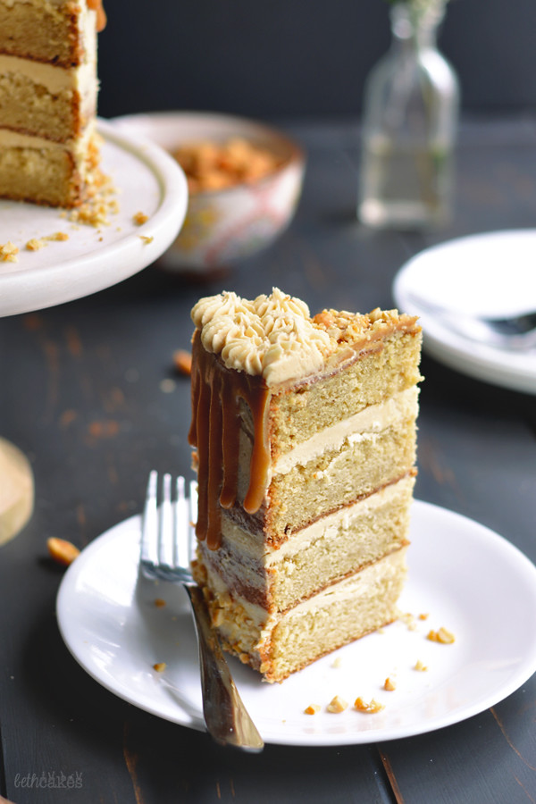 The Ultimate Peanut Butter Lover's Cake // bethcakes.com