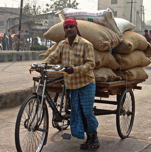 Cargo Rickshaw, Dhaka, Bangladesh, Canon EOS DIGITAL REBEL, Canon 18.0-55.0 mm