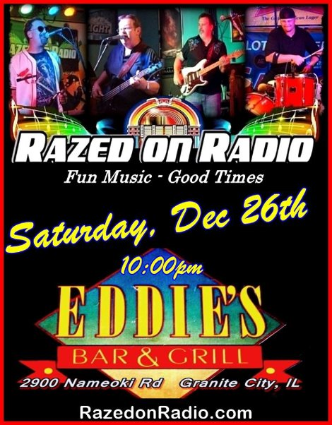 Razed on Radio 12-26-15