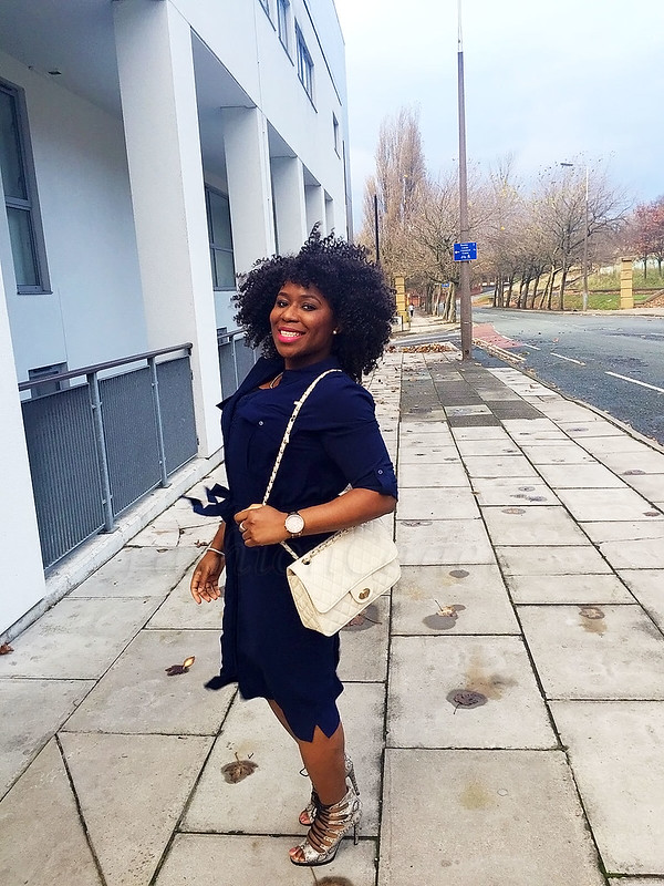 navy-blue-shirt-dress-trend-and-snake-print-lace-up-heels,Tips on how to wear a shirt dress, Tips for styling a shirt dress, how to wear shirt dress, shirt dresses, shirt dresses trend, navy blue shirt dress, lace up heels, lace up heeled sandals