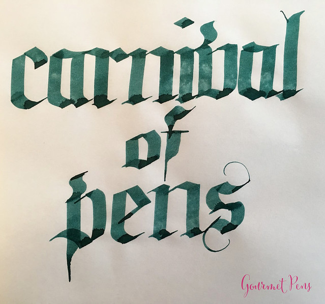 Ink Shot Review Franklin-Christoph Philadelphia Green @1901FC @CarnivalofPens (6)