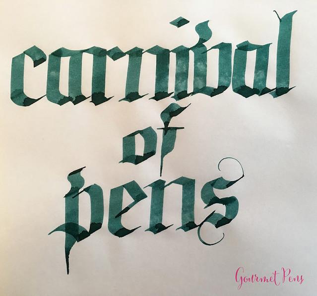 Ink Shot Review Franklin-Christoph Philadelphia Green @1901FC @CarnivalofPens (6)