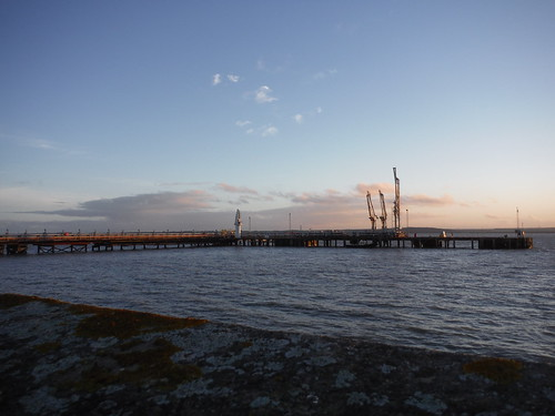 Jetty of Oikos Oil Product Terminal, Canvey Island