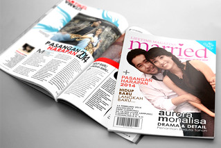 Creative Wedding Invitation Magazine Format