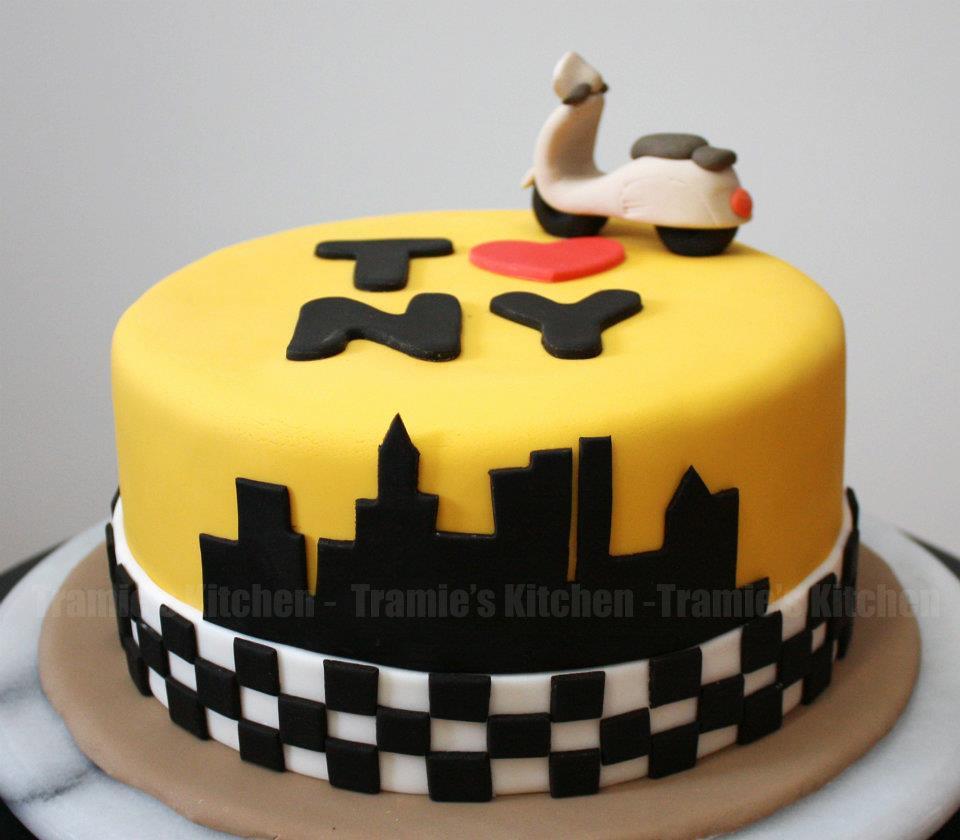 NYC Birthday Cake