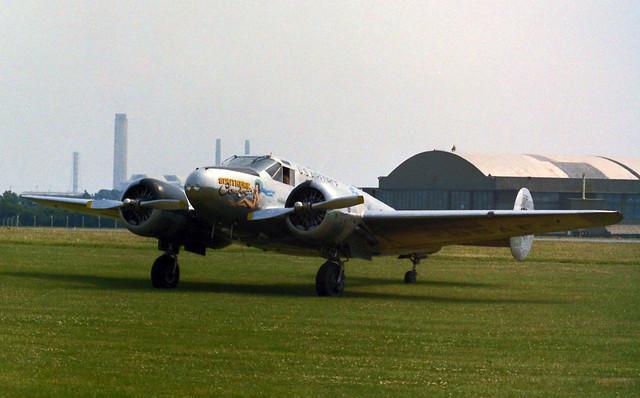 G-BSZC Beech C-45G