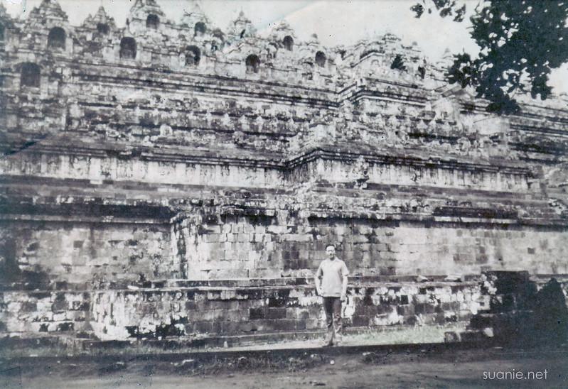 Borobudur, Yogyakarta - December 1973 base