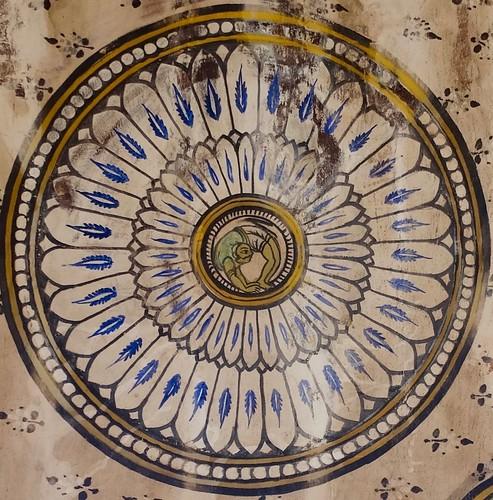Detail of ceiling, Brihadishwara Temple, Thanjavur