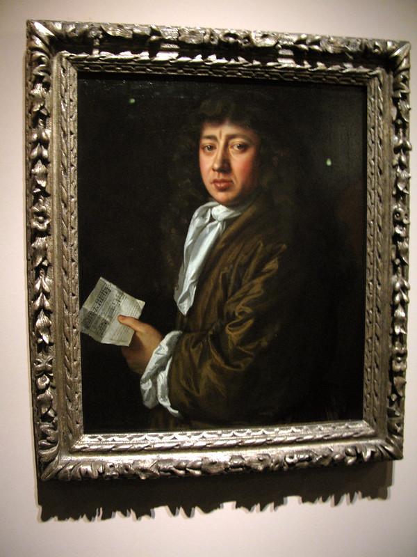 Pepys portrait by John Hayls 1666