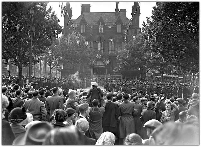 Scenes from the 1952 Preston Guild.