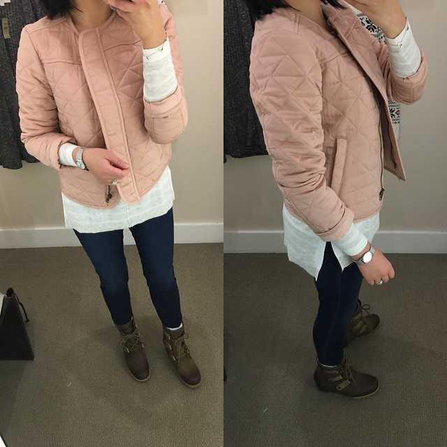 LOFT Quilted Jacket