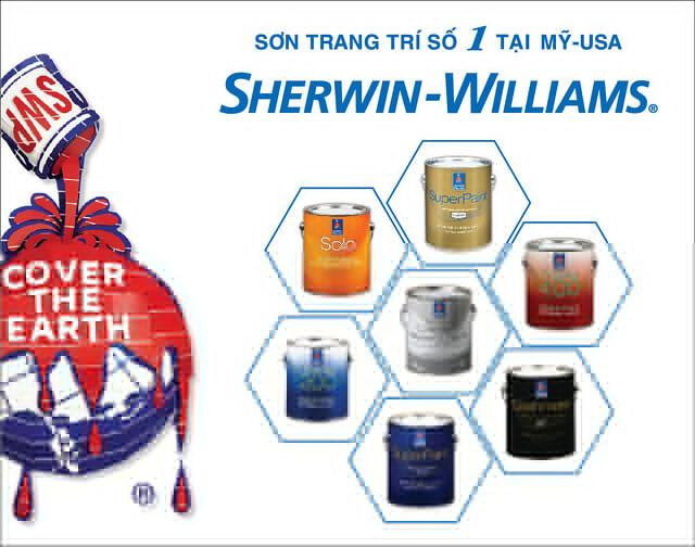 Bước ngoặt lớn của Sơn Sherwin-Williams – Thương hiệu sơn trang trí số 1 tại Mỹ trong năm 2016