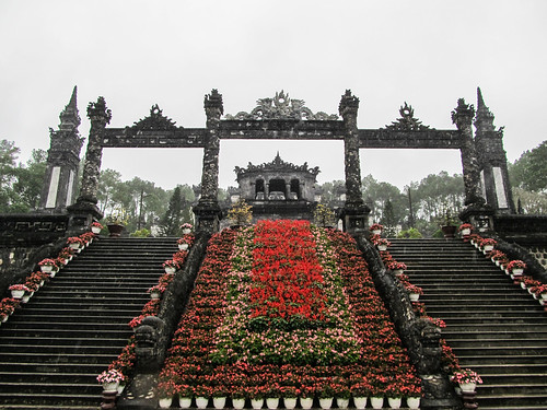Hué: le Tombeau de Khai Dinh
