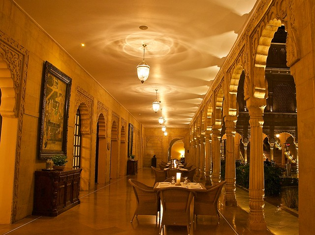 Royal dining @ Suryagarh